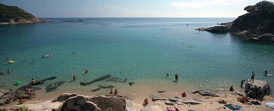 The Cavoli beach - Elba Island